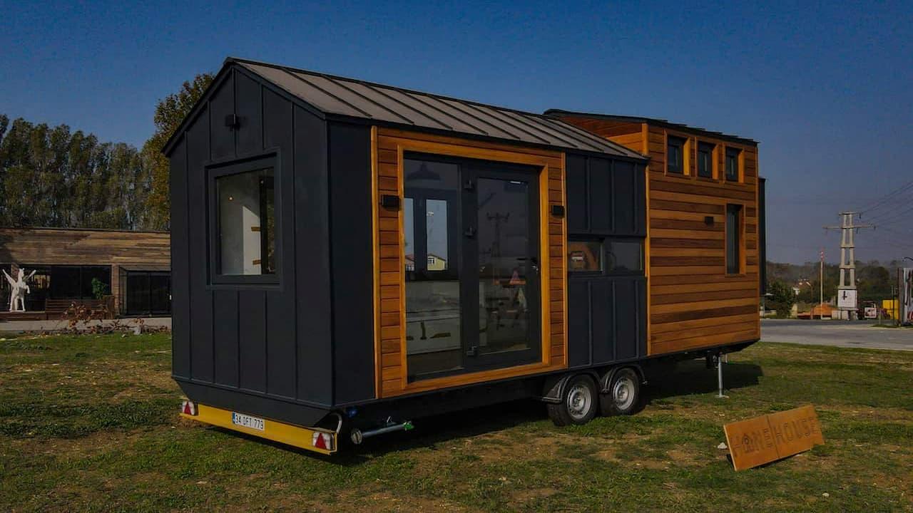 tiny house tekerlekli ev mobil ev doga hane