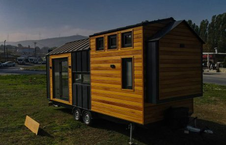 tiny house tekerlekli ev mobil ev satın almak