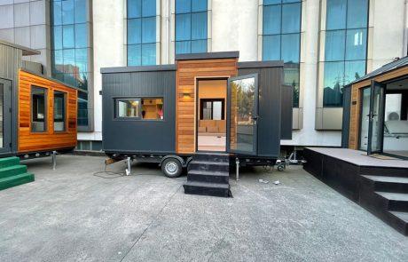 tiny house tekerlekli ev mobil ev mini hane