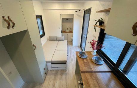 tiny house tekerlekli ev mobil ev Minimalist İpuçları