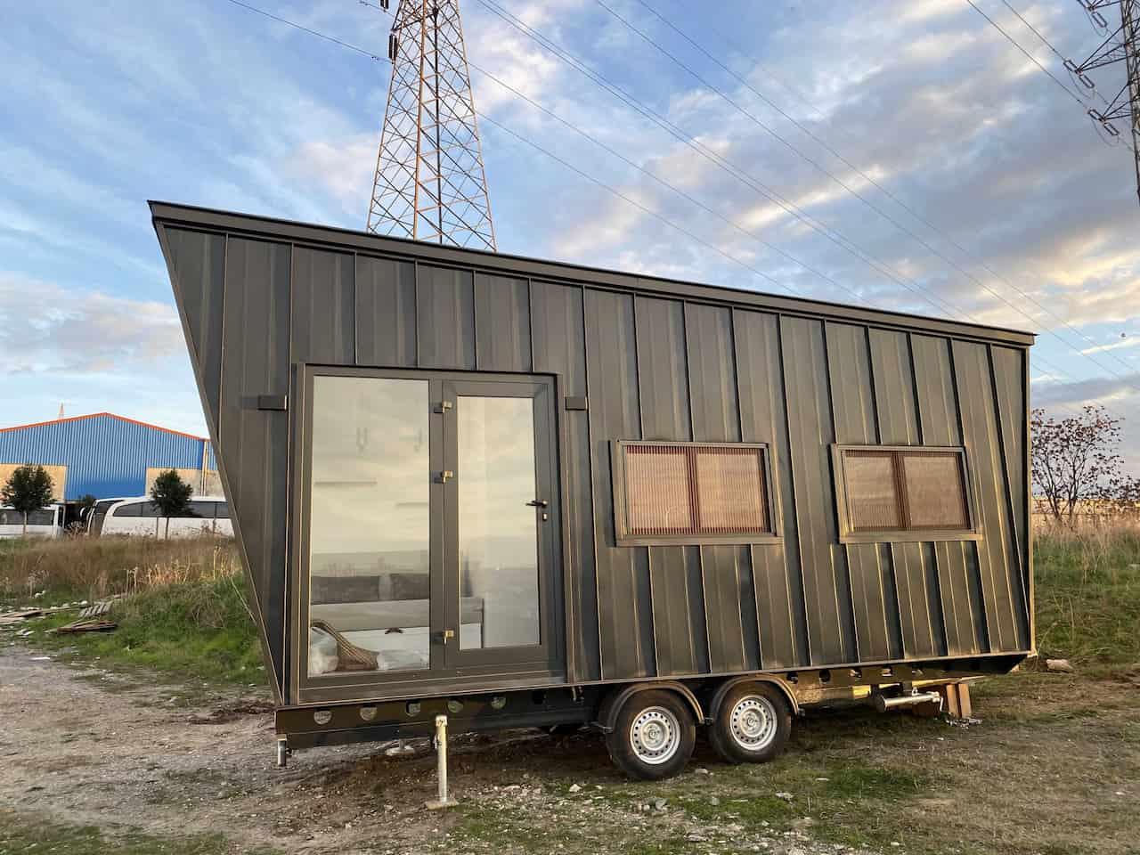 tiny house tekerlekli ev mobil ev nefes hane